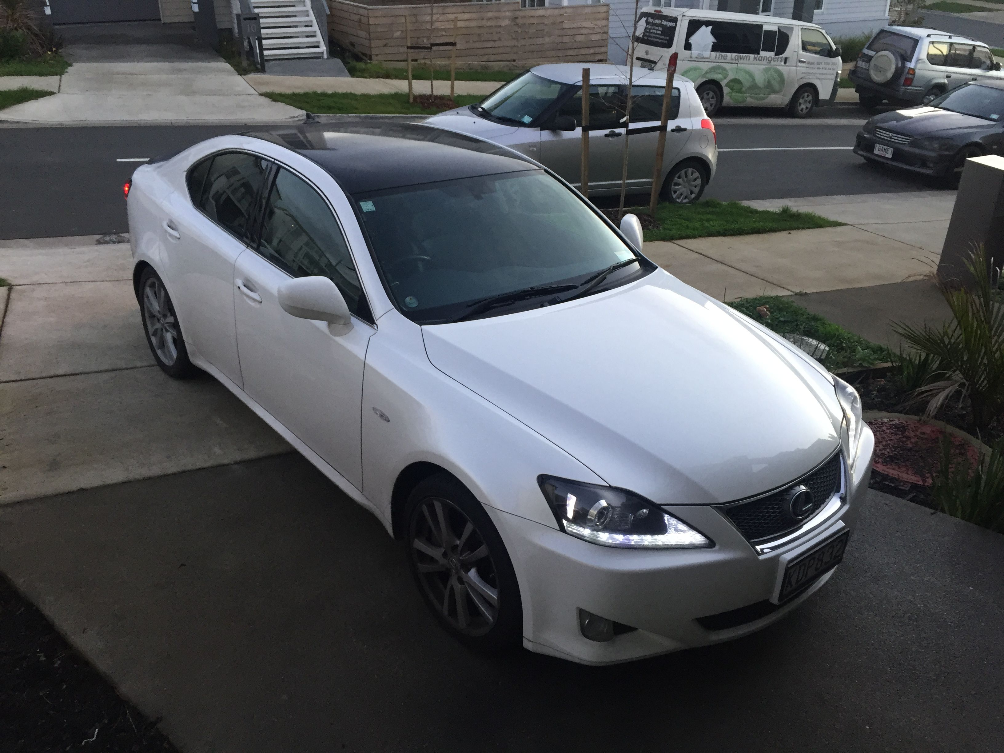 Lexus Is350 Is 350 White Starfire Pearl 2007 2is Black Roof Lexus Is250 Lexus Cars Lexus