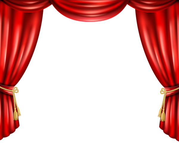Red Curtain Png Transparent Clip Art Image Clip Art Pictures Clip Art Stage Curtains