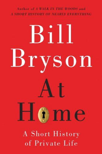 """This is a room-by-room history of the house. It is exhaustively researched and manages to cover great swaths of human history and facts I haven't heard before. For example, did you know that before modern lighting, the total amount of light in the average home at night would be equal to the amount of light you get when you open your refrigerator door? As Bryson said, """"The world at night, for much of history, was a very dark place indeed."""""""