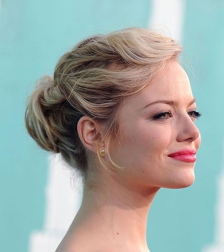 Loose Updos Twisted Loose Bun Hairstyle VIP Hairstyles Up - Hairstyle in bun