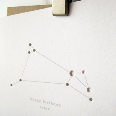 Constellation Birthday Cards Constellation, Birthdays and Cards - birthday card layout