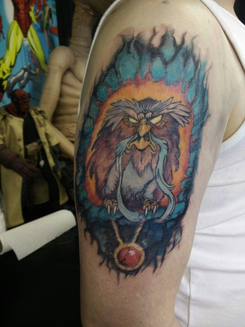 Owl Tattoo From The Secret Of Nimh By Bob At Inky G S Tattoos