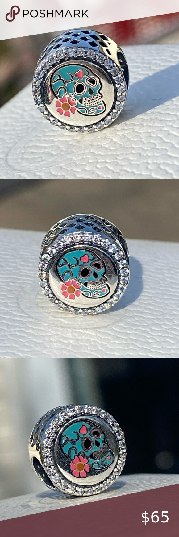 Pandora Day of the Dead (DÍA DE MUERTOS) Charm | Womens jewelry ...
