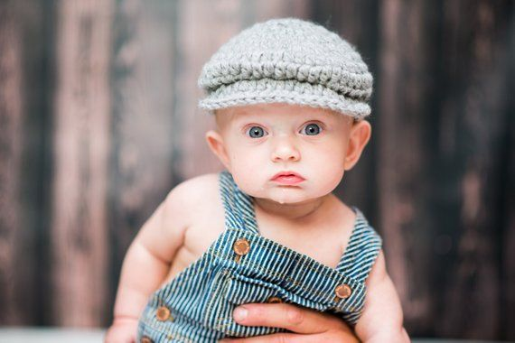 5c27fbe6d Baby Boy Hat 16 Colors Gray Irish Donegal Cap Irish Hat Golf Hat ...