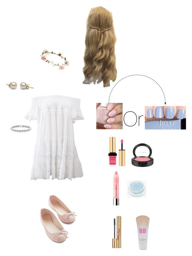 Baby Doll by divafreak on Polyvore featuring polyvore fashion style Anjuna Accessorize Maybelline rms beauty Yves Saint Laurent MAC Cosmetics Clinique women's clothing women's fashion women female woman misses juniors
