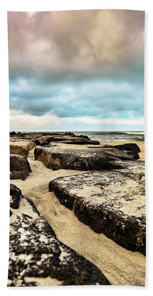 Stone Ocean Hopscotch Beach Towel For Sale By Joshua Zaring Large Beach Towels Beach Towel Ocean