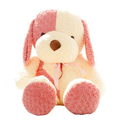 23 cuddly pink dog plush toy soft baby giant stuffed animal toy puppet doll valentines day