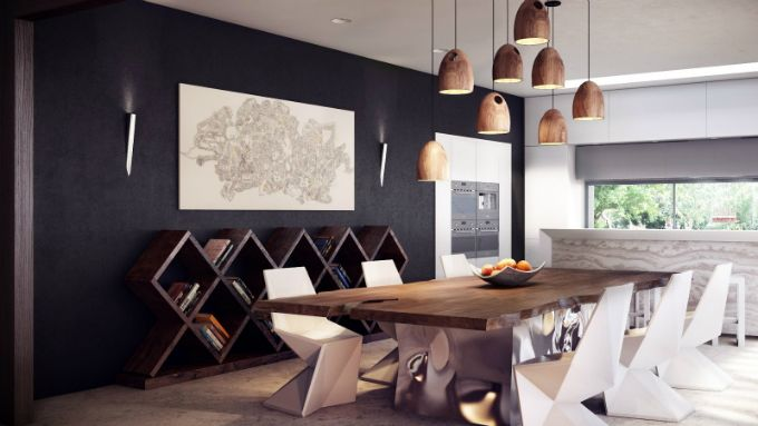 esszimmer – farbe und möbel die diesen frühling für ambiente, Haus Raumgestaltung