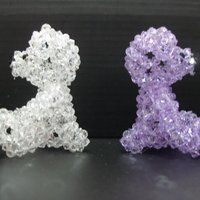 Swarovski crystal photo: Swarovski Crystal Bear - face2face2 SDC10535.jpg