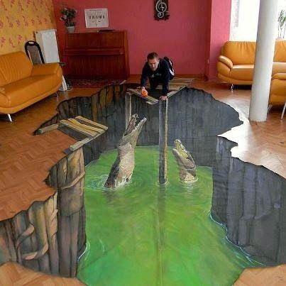 3D Floor Art Self Leveling Floor Design