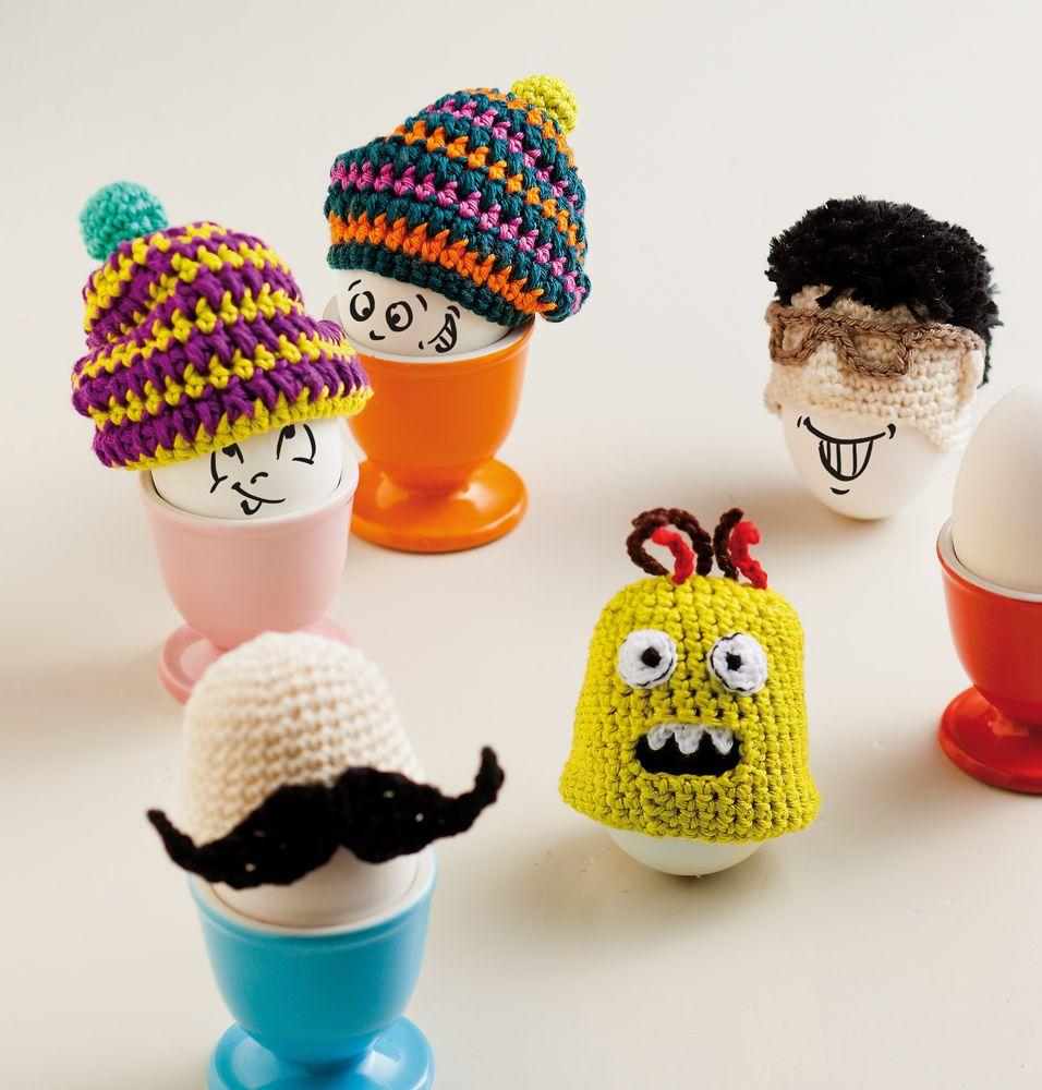 Funny Eggs Eierwärmer Eierwärmer Häkeln Und Häkeln