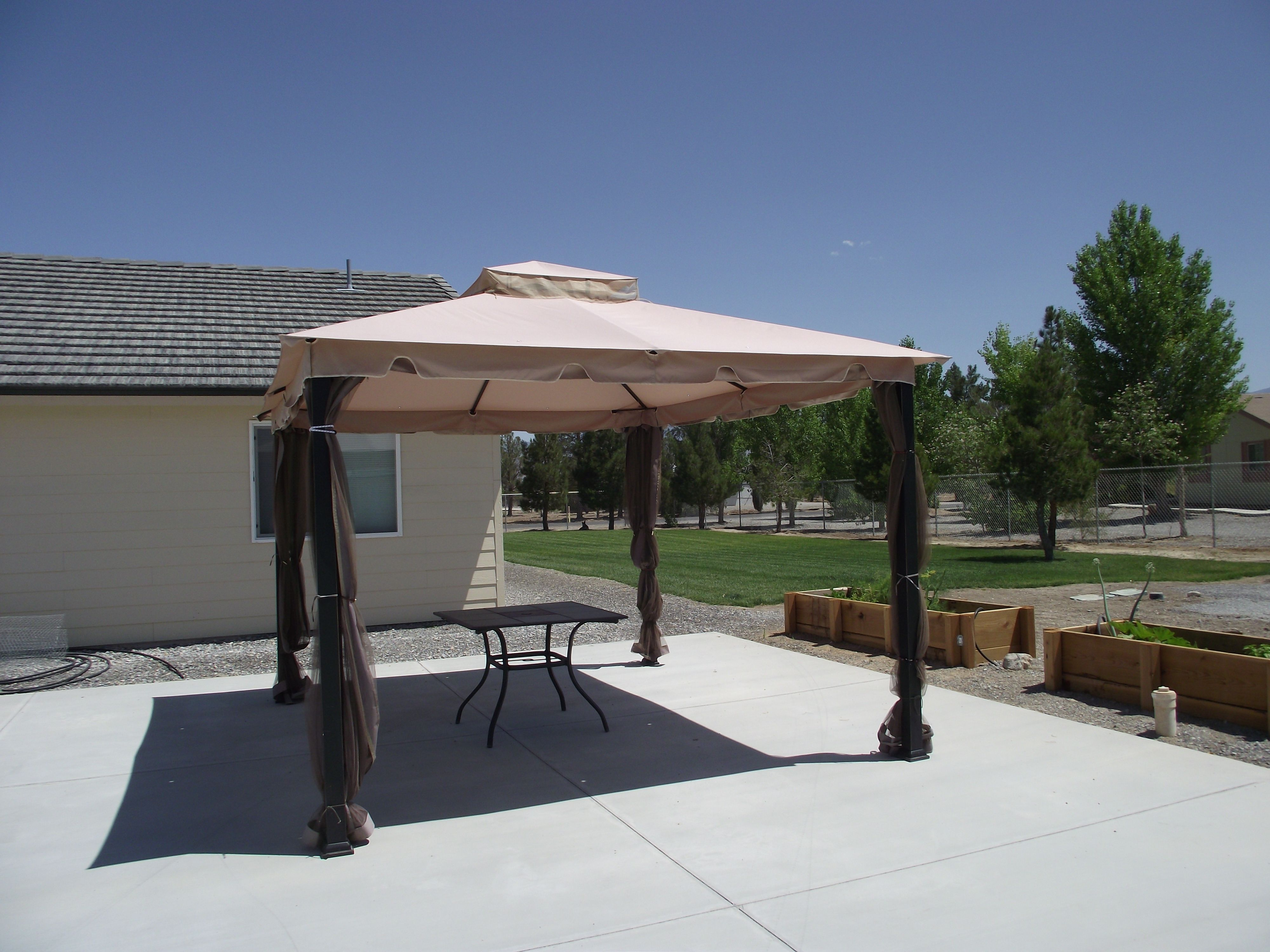 Sunjoy Biglots Monterey Gazebo Canopy Fabric - The Gazebo is a pavilion structure that is put to use for a long time as a public space that is open : big lots canopy replacement - memphite.com