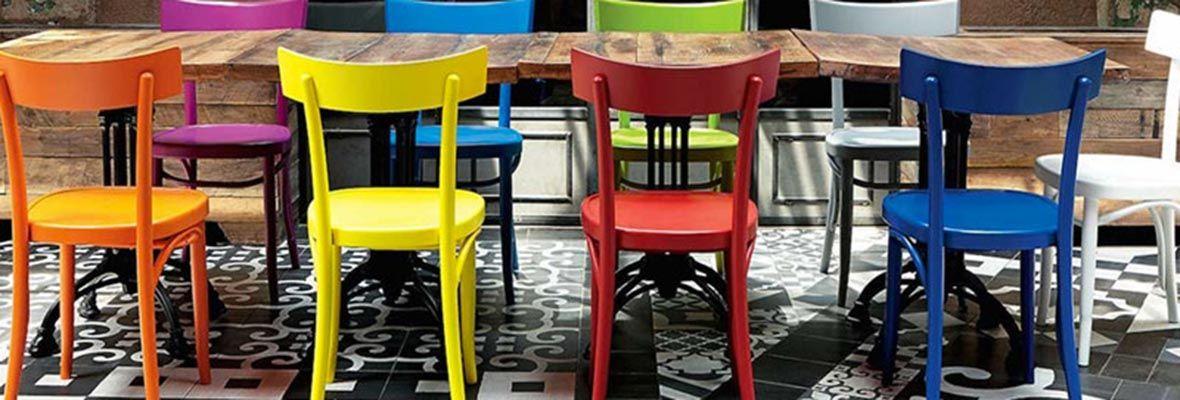 Sedie colorate da cucina | Terredelgentile | Sedie, Cucine ...