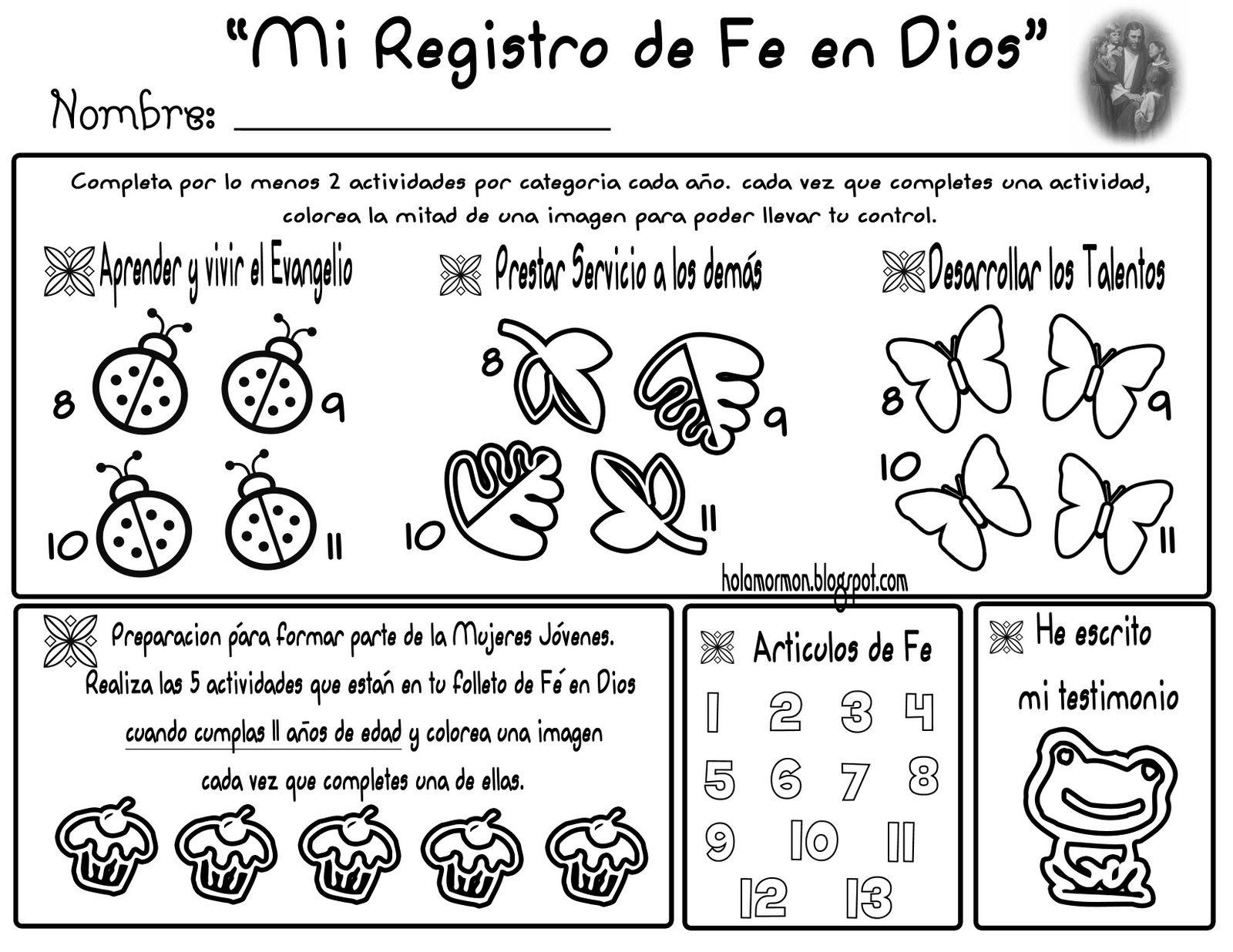 Registro Fe en Dios   fe en Dios   Pinterest   Ideas para and Pdf