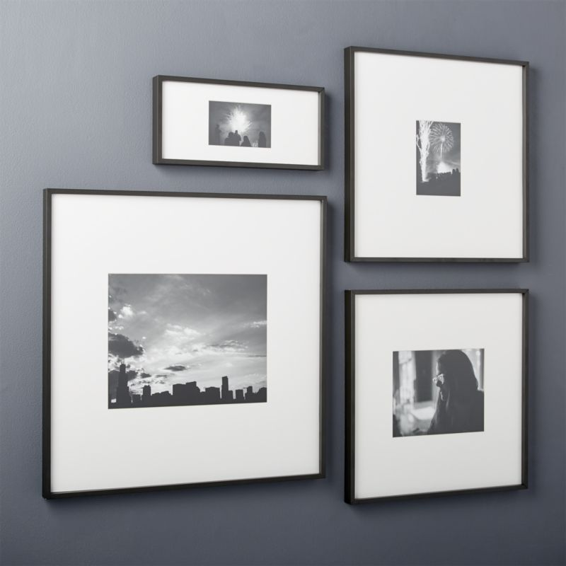 Gallery Black 11 X14 Picture Frame Cb2 Picture Frame Art Picture Frame Gallery Diy Picture Frames