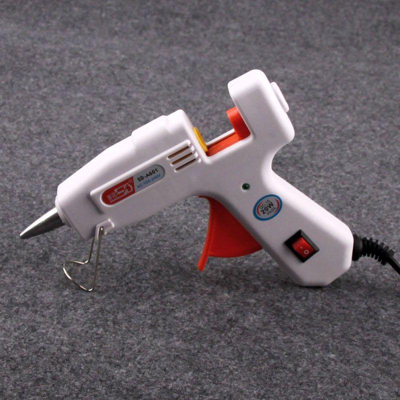Small electric hot melt glue gun glass glue machine silicone