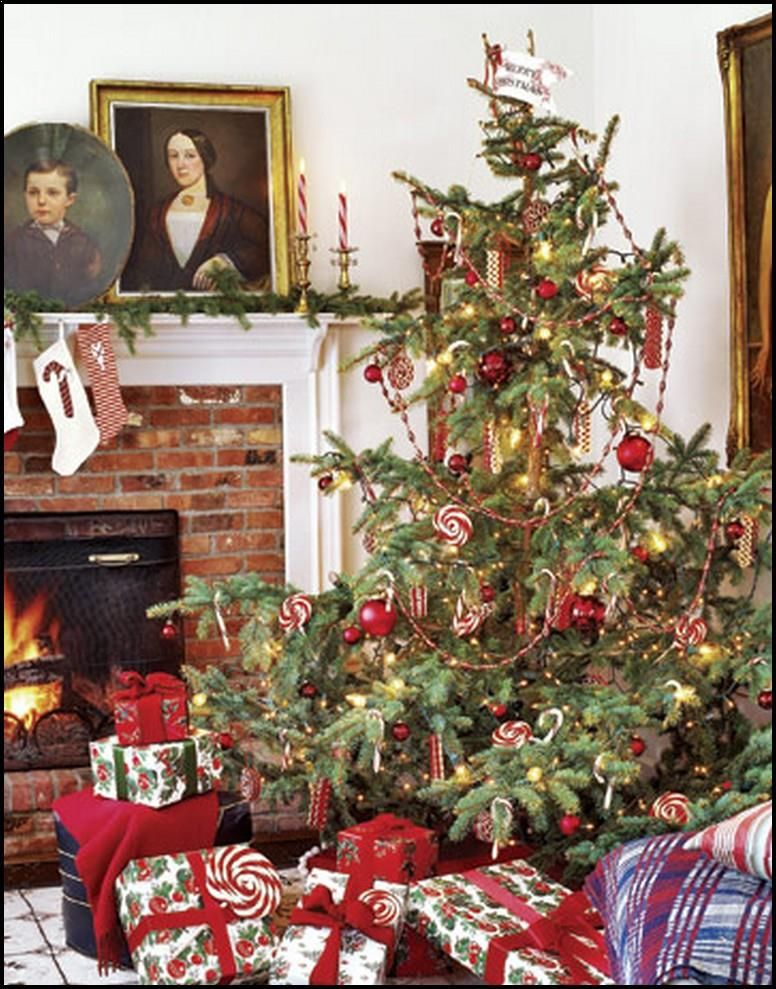 Image result for old fashioned christmas trees images