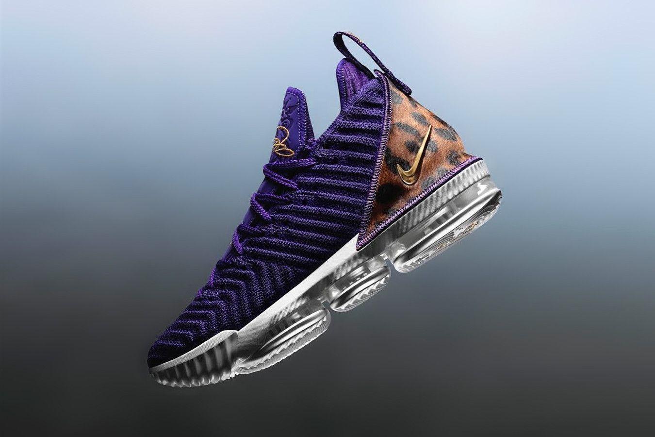 378e49b60ce LeBron James Debuts Nike LeBron 16
