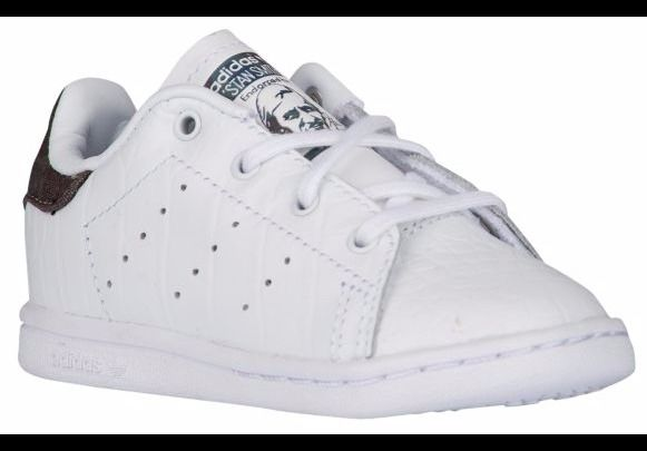 e2b39e623 Toddler ADIDAS ORIGINALS STAN SMITH White Night Cargo Black BB3008  adidas   BB3008