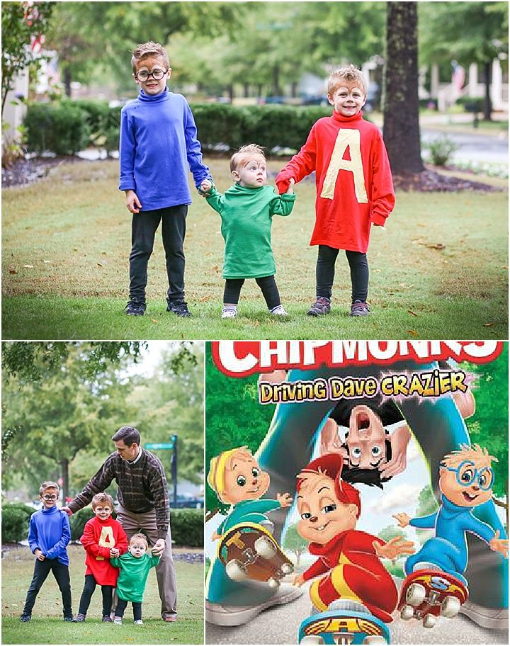 Dave In Halloween 2020 Alvin and the Chipmunks, Halloween Costumes for Boys, Dave