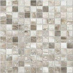 Mariner Rain Forest Mosaic Silver Rainforest Mosaic Italian Bathroom