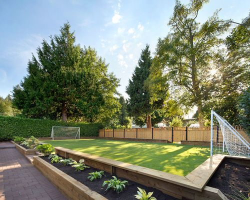 Backyard Soccer Field Home Design Ideas, Pictures, Remodel