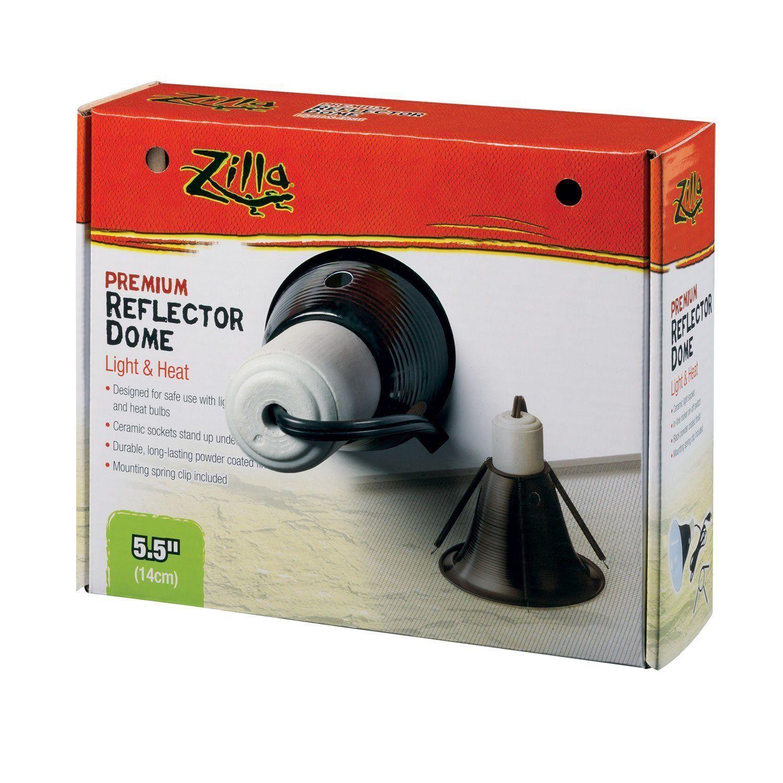 Zilla Reptile Terrarium Heat Lamps & Habitat Lighting Dome