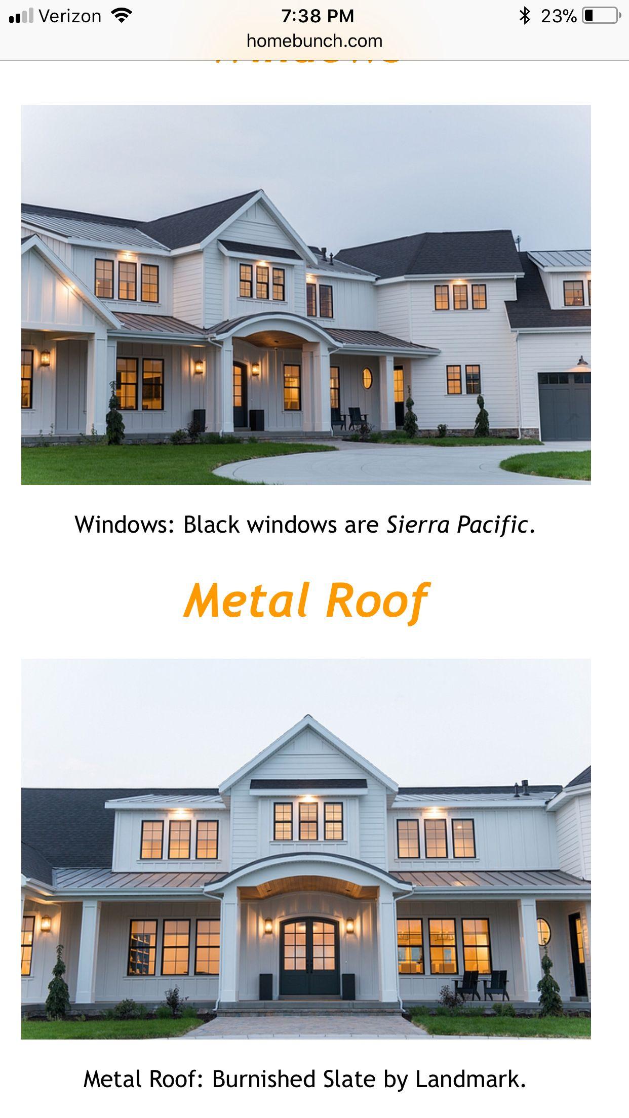 Best Black Walnut Shingle Roof Sierra Pacific Windows Black 400 x 300