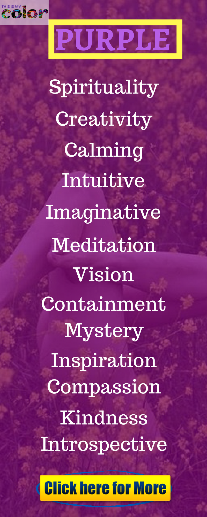 Learn The Purple Color Meaning And Its Meaning Of Colors In Personality Color Meanings Purple Color Meaning Healing