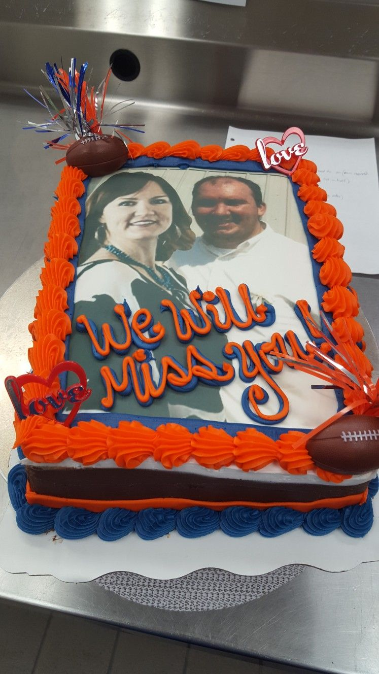 Farewell Auburn Photoshop Photo Cake