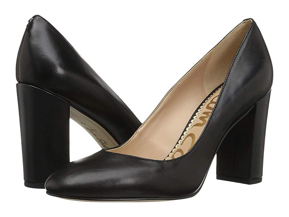 ffd200c1f09 Sam Edelman Stillson (Black Dress Nappa Leather) Women s Shoes. Stop  traffic in the always eye-catching Stillson pump from Sam Edelman.