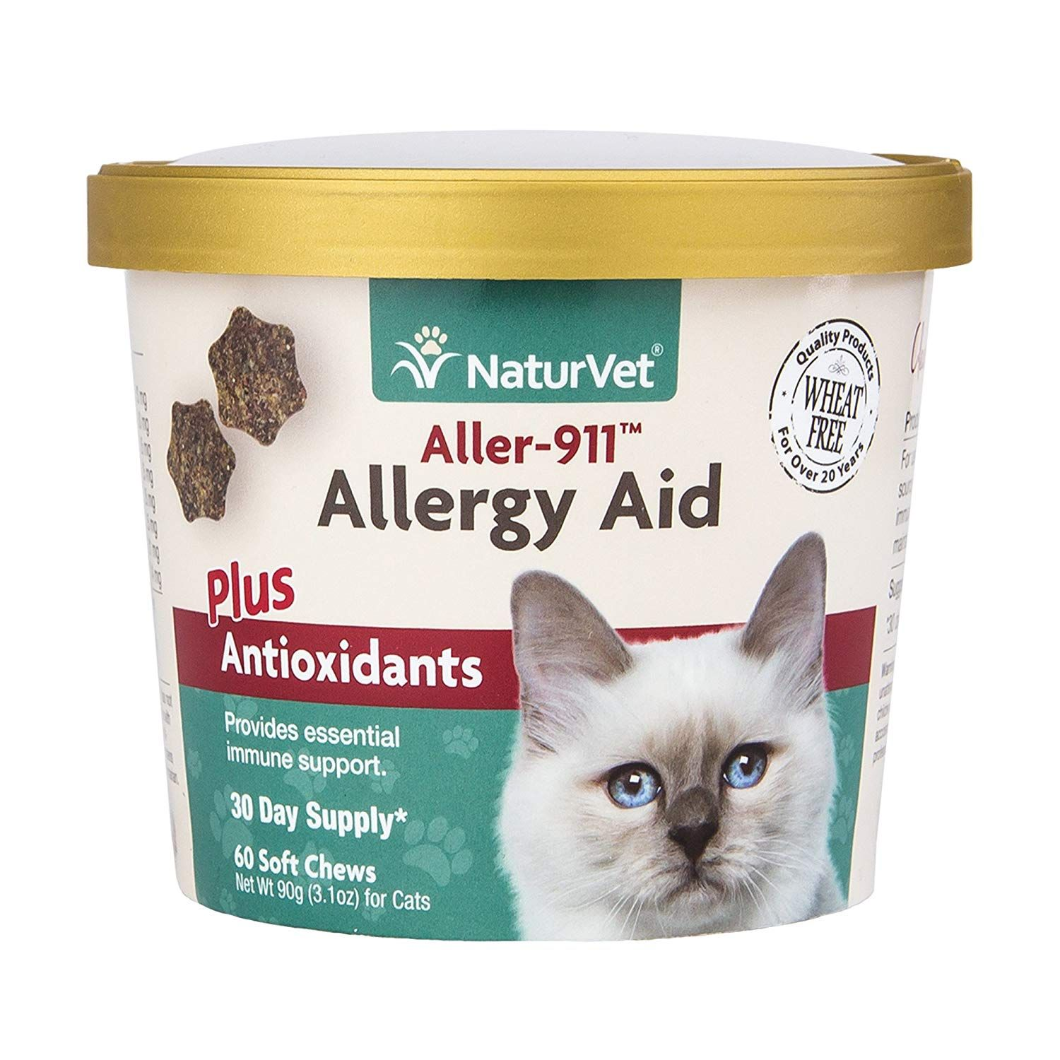 NaturVet Cat Allergy Aid Supplement Do hope that you