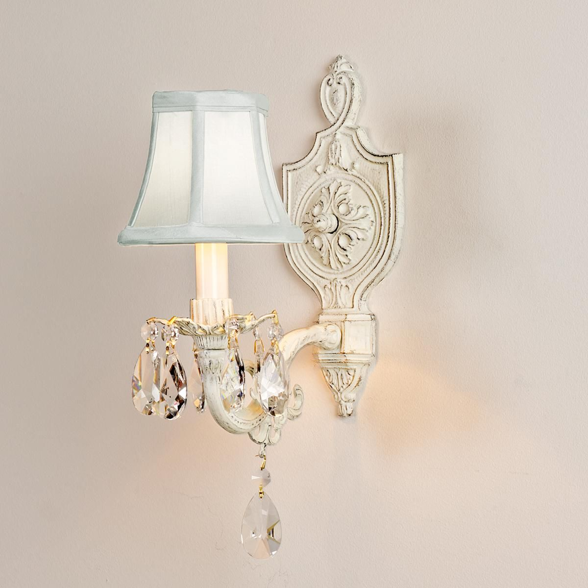 Vintage Cottage Chic Sconce Shabby Chic Bathroom Sconces Bathroom Wall Sconces