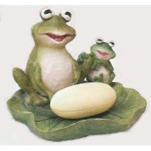 Beautiful Frog Kitchen Decor   FROG Lily Pad SOAP DISH Bath Bathroom Home Decor Froggy
