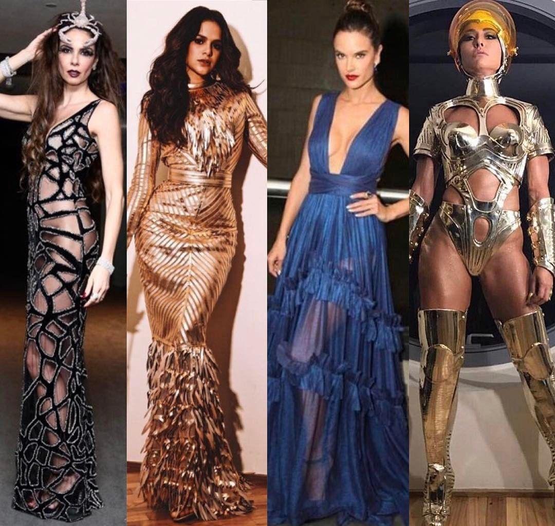 Meus destaques do #BailedaVogue! Luciana Bruna Alessandra e Sabrina  No Fashionismo tem post com dezeeenas de looks