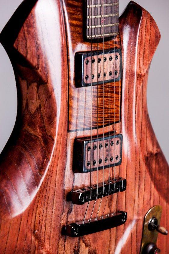 Handmade and Custom Guitars - Ergon BT Design #customguitars