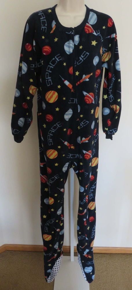 Boys Xl Footed Pajamas Breeze Clothing