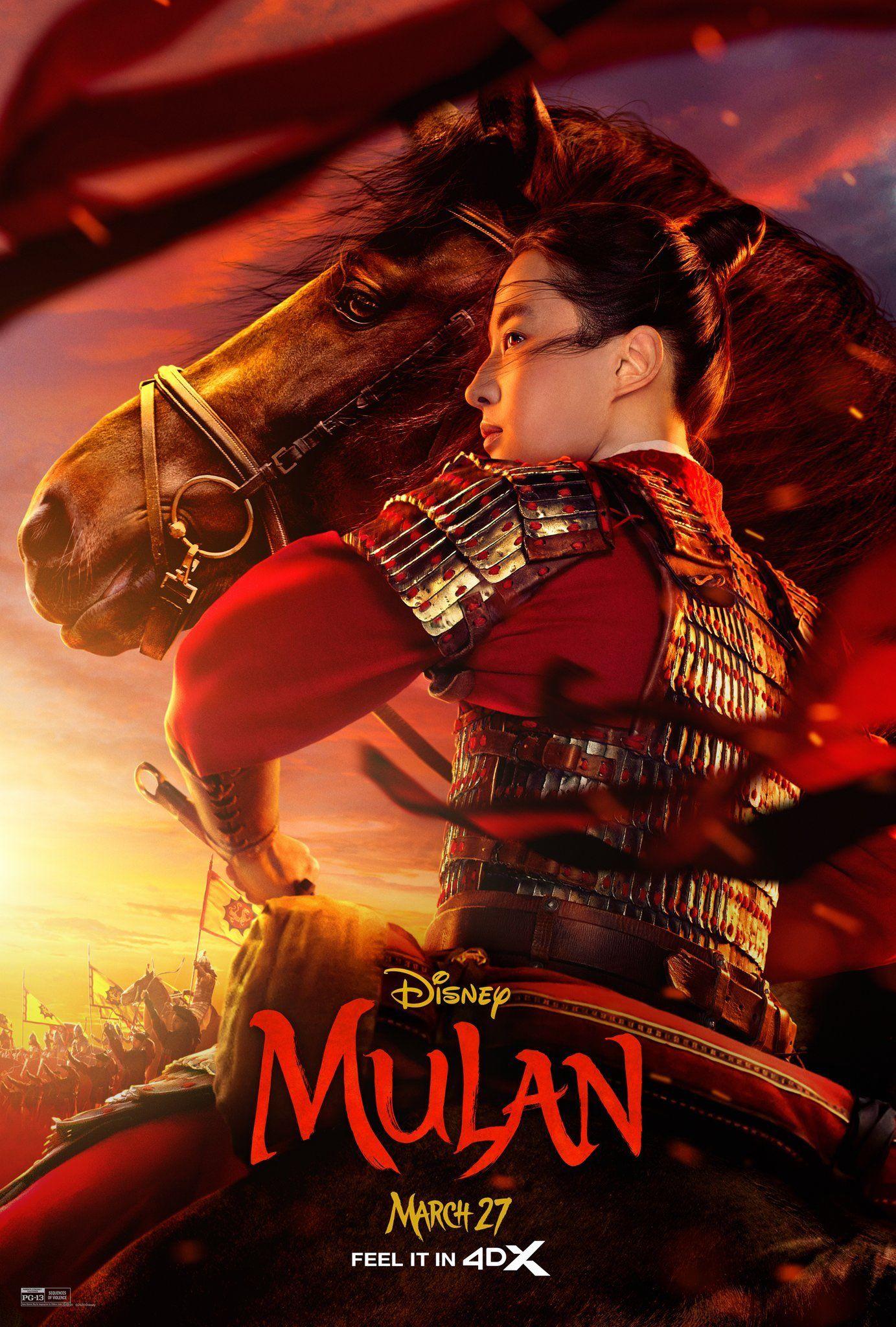 Mulan 2020 ในปี 2020 หนัง, ไทย