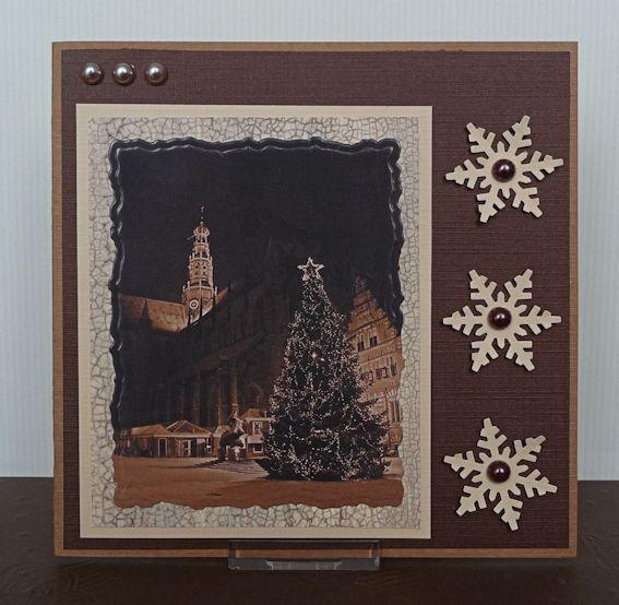 Christmas card Haarlem ♥