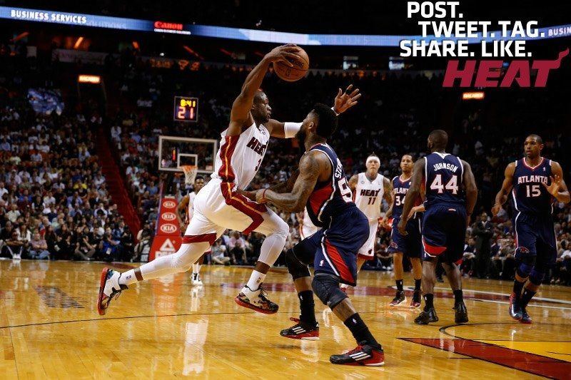 Dwyane Wade Miami heat, Atlanta hawks, Tv schedule