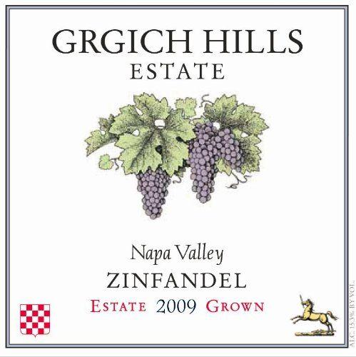 2009 Grgich Hills Estate Napa Valley Zinfandel also wonderful