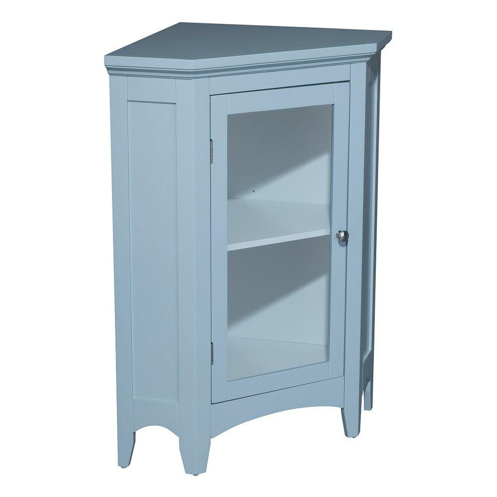 Allendale Corner Floor Cabinet with 1 Door | Overstock.com ...
