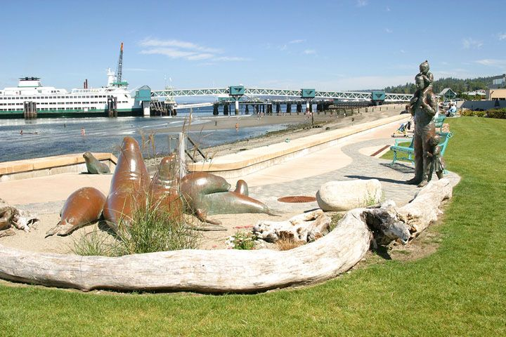 Edmonds Beach in Edmonds, Washington. A wonderful city to grow up in!