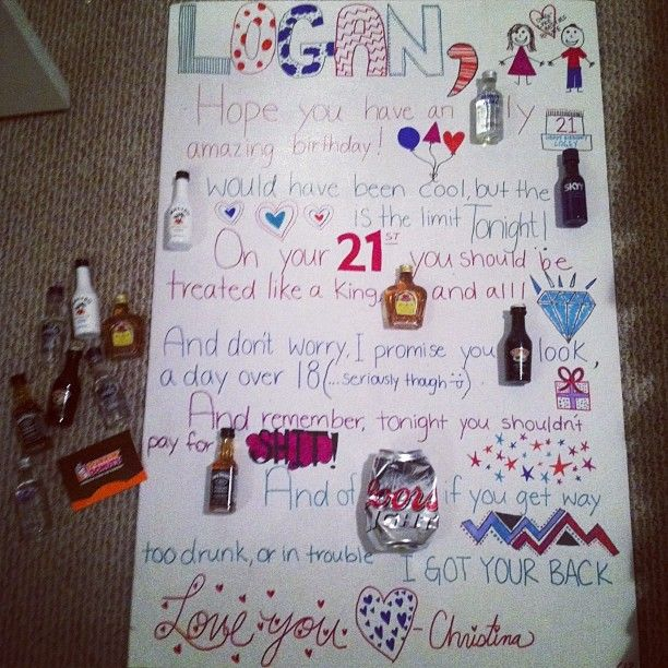Perfect Gift For A Best Friends 21st Birthday Gift Ideas