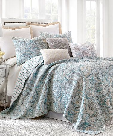Another Great Find On Zulily Aspen Spa Quilt Set