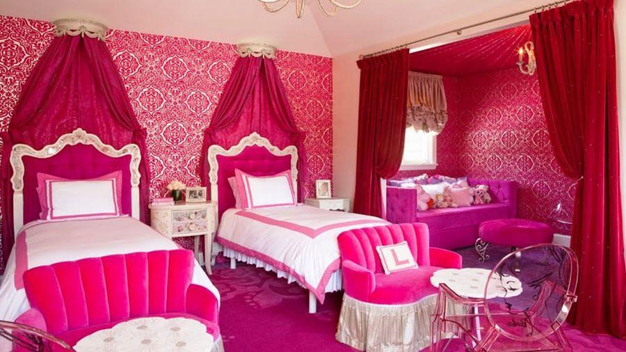Meravigliose camerette da principessa disney per bambine luca