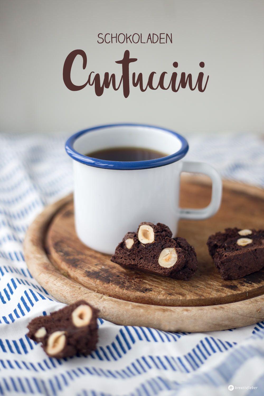 Schokoladen Cantuccini - kleines Mitbringsel aus der Küche ...