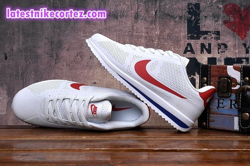 darse cuenta Panadería Original  New Arrival Nike Classic Cortez Ultra Moire Womens Sneakers White Red Hot  Sell | Sneakers, Nike, Nike classic cortez