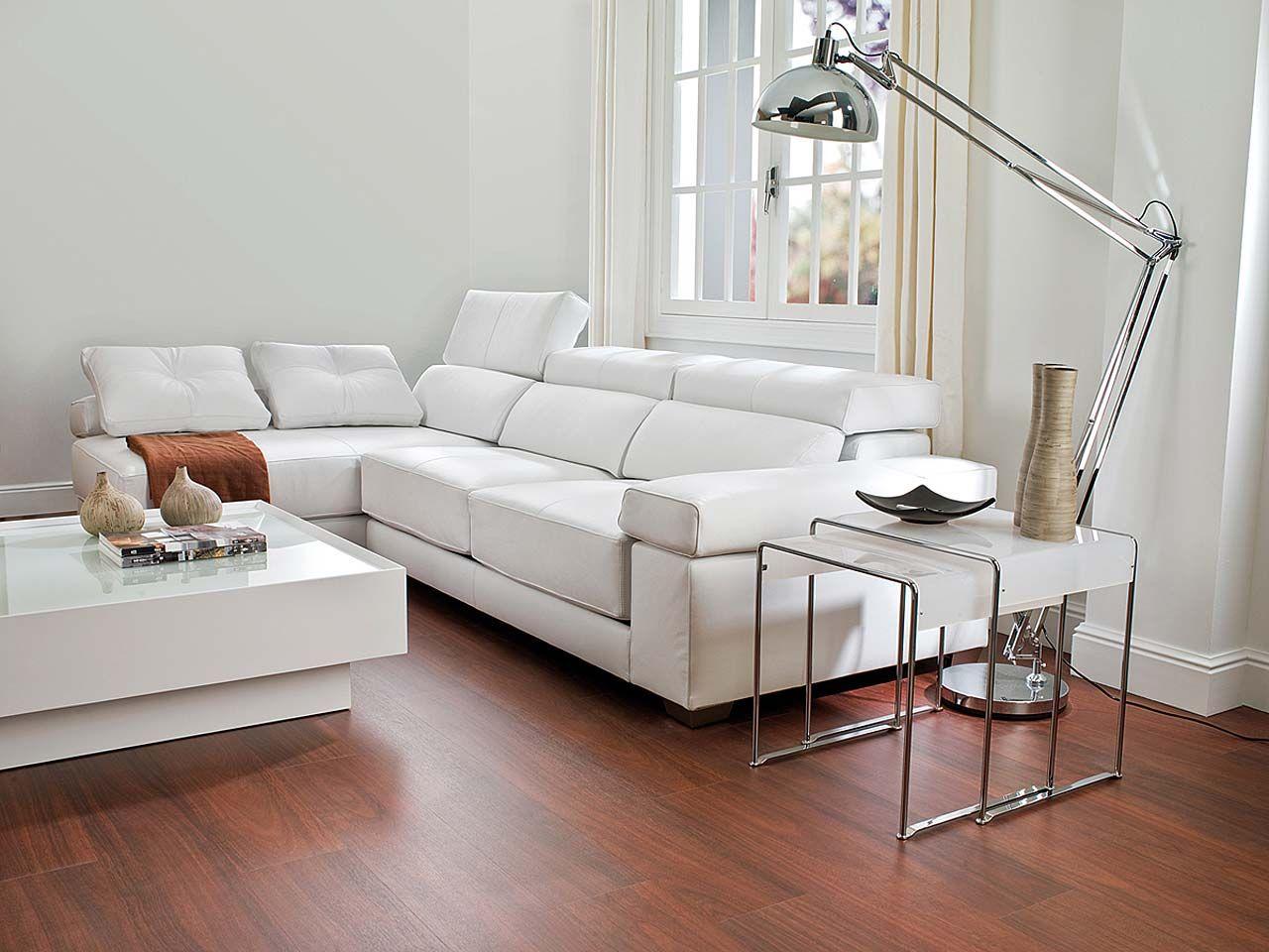 Salas com piso laminado awesome con piso de madera with for Suelos laminados porcelanosa
