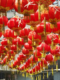 chinese new year party ideas decorations